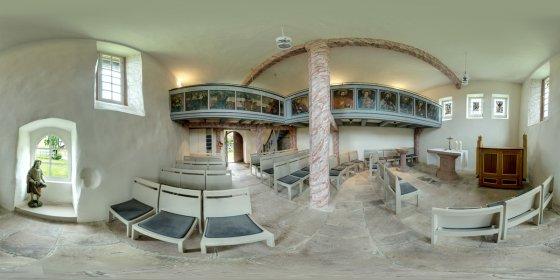 Play '360° - JOHANNITERKIRCHE 12. Jhdt. Hessen